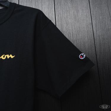 Hàng Chính Hãng Áo Thun Champion Black/GoldLogo 2021**