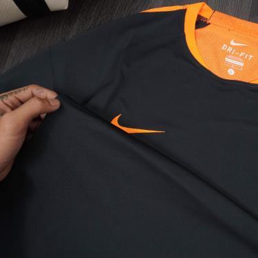 Hàng Chính Hãng Áo Thun Nike Dri-Fit Football Black/Orange **2020**