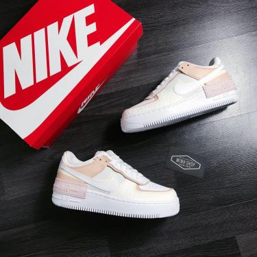 Hàng Chính Hãng Nike Air Force Shadow SE-Spruce Aura White Salt 2020**