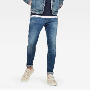 Hàng Chính Hãng Quần Jeans G-Star Raw Revend Skinny  Indigo Aged 2020**
