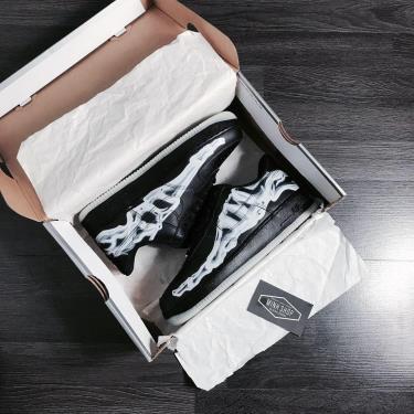 Hàng Chính Hãng Nike Air Force 1 Low Black Skeleton 2020**