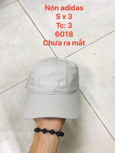 Hàng Chính Hãng Nón Adidas Light Grey/White Logo 2020**