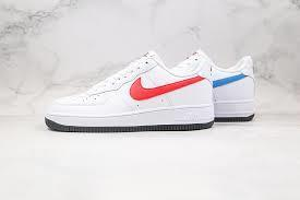 -1XXX🎁TOP HOT 🎁Nike Air Force 1 Low Alternate Swoosh White/Blue/Red [CT2816 100] [ O ]