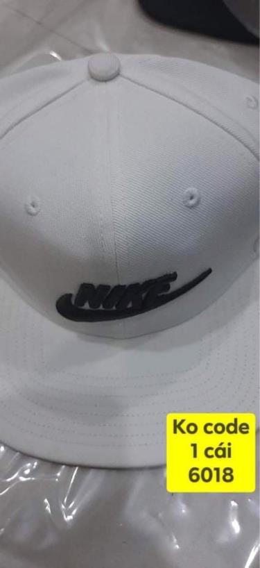 Hàng Chính Hãng Nón Nike Snapback  White/Black Logo  2020**
