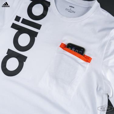 Hàng Chính Hãng Áo Thun Adidas White/Black 2021**