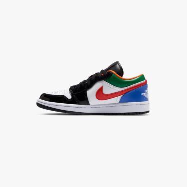 Giày Nike Jordan 1 Low Multi-Color Black Toe** [CZ4776 101]