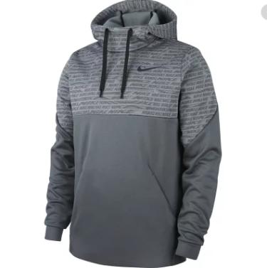 Hàng Chính Hãng Áo Hoodie Nike Therma AOP Grey 2020**