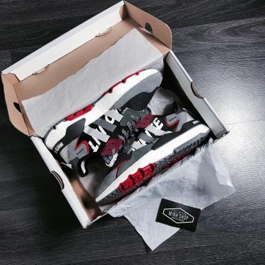 Hàng Chính Hãng Adidas Nite Jogger White Mountaineering Black/Grey/Red 2020**