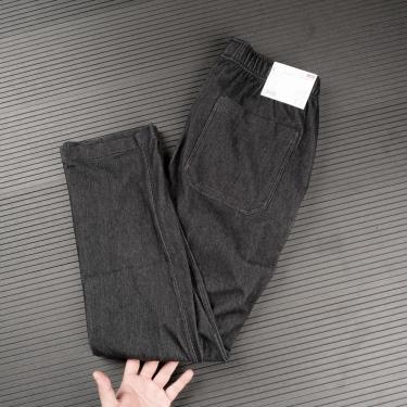 Hàng Chính Hãng Quần Uniqlo Jersey Relax Ankle Black 2020**