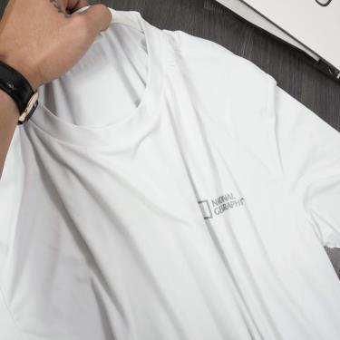 Hàng Chính Hãng Áo Thun National Geographic White Polyester 2020**