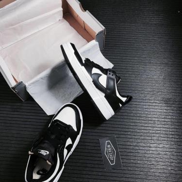 Hàng Chính Hãng Nike Dunk Low Disrupt Black White 2021** [CK6654 102]