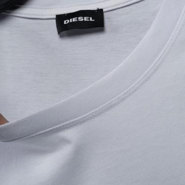 Hàng Chính Hãng Áo Thun Diesel Black/White V3 **2021**
