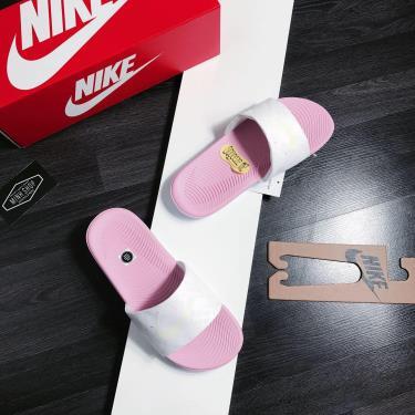 Hàng Chính Hãng Dép Nike Kawa Slide White/Pink 2020**