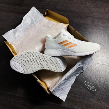 ''HOT 70% '' Hàng Chính Hãng Adidas Edge Lux 3 White/Gold 2020**