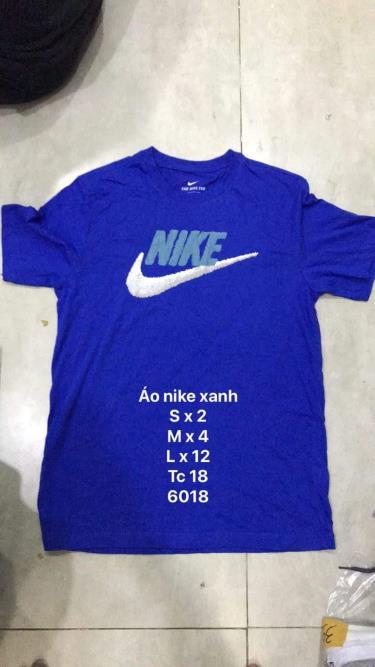 Hàng Chính Hãng Áo Thun Nike Tee Brand Mark Dark Blue 2020**