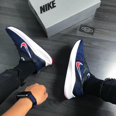 """Hàng Chính Hãng Nike Air Zoom Winflo 7 """"Midnight Navy Crimson"""" 2020**"""