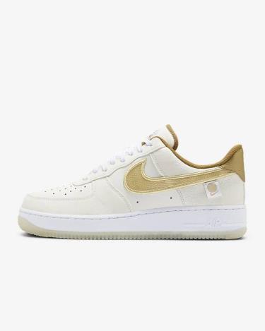 Giày Nike Air Force 1 Low Worldwide Katakana Gold [DA1343-170]