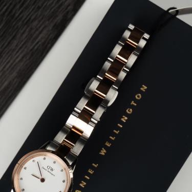 Hàng Chính Hãng DW Iconic Link Lumine Rose Gold / Silver White Watch 2021**