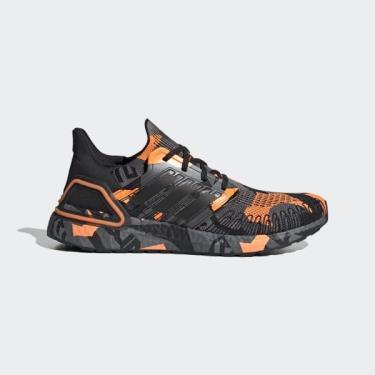 Hàng Chính Hãng Adidas Ultra Boost 6.0  'Geometric Pack - Black Signal Orange' 2021**