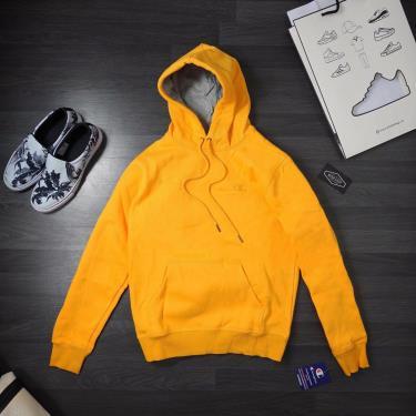 Hàng Chính Hãng Áo Hoodie Champion Powerblend Pullover Yellow 2020**