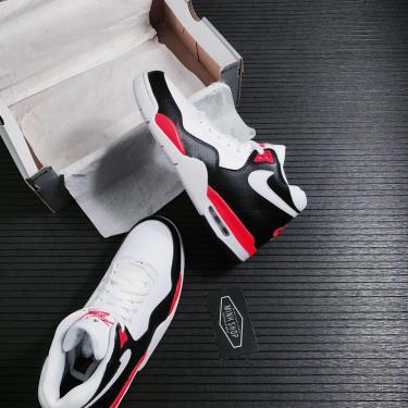 Nike Air Flight Legacy Black/White/Solar Red ** [BQ4212 005]