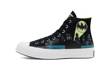 Hàng Chính Hãng  Converse X Batman X ChinaTown Chuck 70 Hi Black 2020**