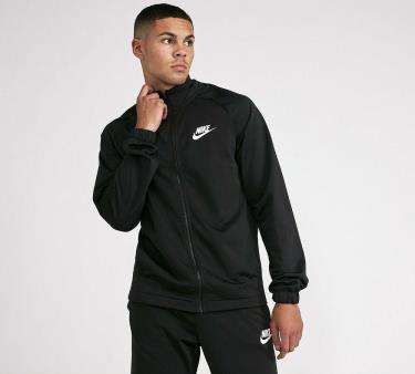 Hàng Chính Hãng Áo Khoác Jacket Nike Basic Polyester Zip Black 2021**