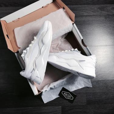 Hàng Chính Hãng Puma RS-X3 Puzzle White Silver 2020**