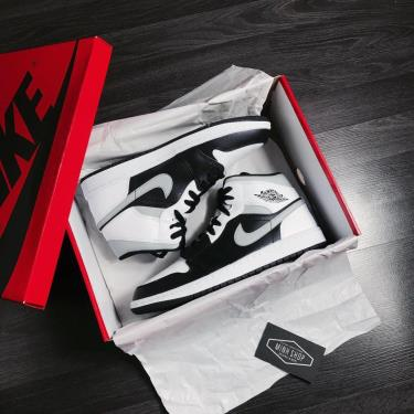 ⚜Highest Rated⚜ Giày Nike Air Jordan 1 Mid White Shadow GOLD SIZE [O] ** [554724 073]