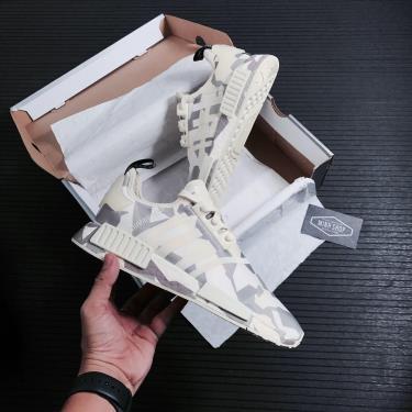 Hàng Chính Hãng Adidas NMD R1 Sand white Camo 2021**best season
