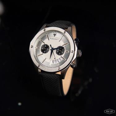 Hàng Chính Hãng Maserati Circuito Silver Dial Watch 2021** [R8871627005]