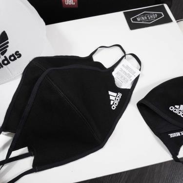 Pack 3 cái ~~ Hàng Chính Hãng Khẩu Trang Adidas Face Cover Black  2021** only 12Hours