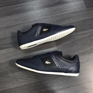 ''FLASH DEAL 70% '' Hàng Chính Hãng Lacoste Sneaker Navy/Gold LOGO 2019**