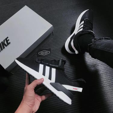 #GIẢM MÙA HÈ - Giày Adidas U_Path Run Black/White [G27639]