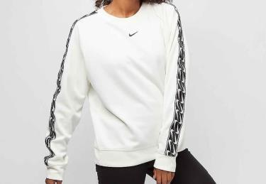 Hàng Chính Hãng Áo Sweater Nike Ivory White Black Crew 2020**