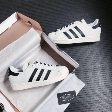 Hàng Chính Hãng Adidas Superstar  Adv Split White Black 2021**