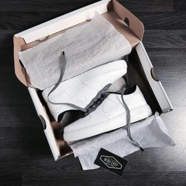 Hàng Chính Hãng Nike Air Force 1 White/Black **2020**