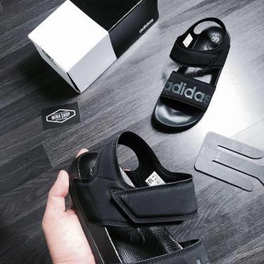 Hàng Chính Hãng Adidas Adilette Sandal All Black 2020**