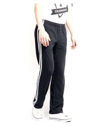 Hàng Chính Hãng  Quần Adidas Essential 3S Sweatpants Black/White 2020**