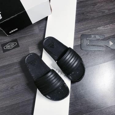 Hàng Chính Hãng Dép Adidas Adilette Boost Slides All Black  2020**