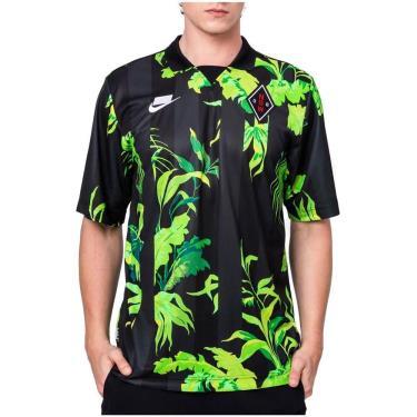 Hàng Chính Hãng Áo Thun Nike NSW Floral Football Black/ Green 2020**