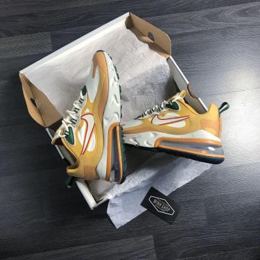 Hàng Chính Hãng Nike  Air Max 270 React Reggae 2020**