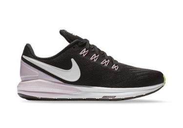 Hàng Chính Hãng Nike Air Zoom Structure 22 Black Pink Foam 2020**