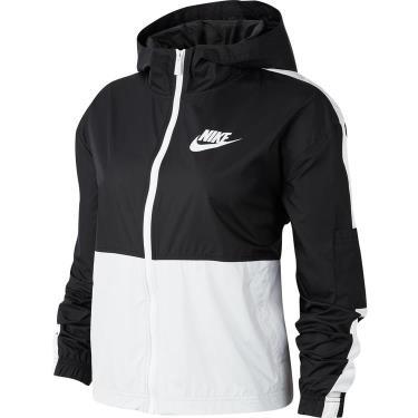Hàng Chính Hãng Áo Khoác WOMEN  Nike Sportswear Black White 2020** HOT