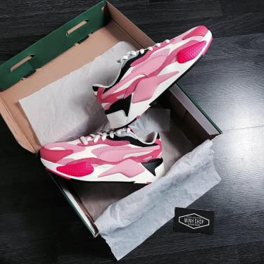 Hàng Chính Hãng Puma  RS-X3 Puzzle Pink  2020**