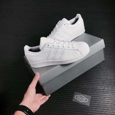 Hàng Chính Hãng Adidas Super Star All White W 2021**