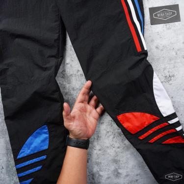 SALE-2xx ONLY L Quần Jogger Adidas Tricolor Black 2021** [GN8046] ÁP DỤNG CHUYỂN KHOẢN