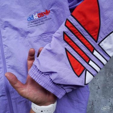 Hàng Chính Hãng Áo Khoác Adidas Big Logo Light Purple 2021**