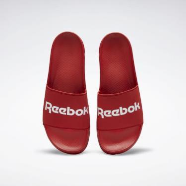 Hàng Chính Hãng Dép Reebok Classic Slide Red/White Logo 2020**