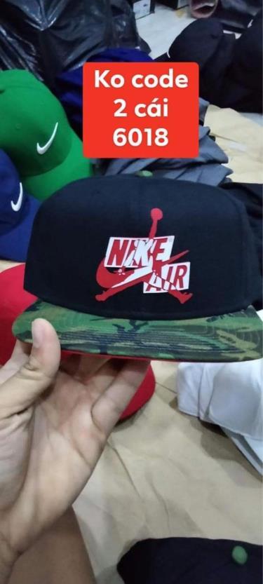 Hàng Chính Hãng Nón Nike Air Jordan Snapback Black/camo 2020**
